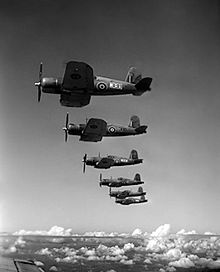 Airplane Picture - A formation of British F4U Corsairs in 1944.