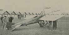 Airplane Picture - An early version of the Deperdussin Monocoque.