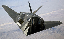 Airplane Picture - The F-117 Nighthawk was a stealth attack aircraft (retired from service on 22 April 2008).