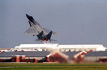Airplane Picture - F-15C on takeoff