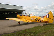Airplane Picture - Fairchild PT-26B Cornell in flying condition at the Commonwealth Air Training Plan Museum, Brandon, Manitoba, 2005.