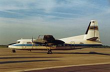 Airplane Picture - The Fokker F-27 turboprop airliner.