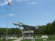 Airplane Picture - F-14 Tomcat at Grumman Memorial Park, Calverton, New York