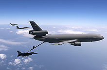 Airplane Picture - KC-10 Extender during refueling