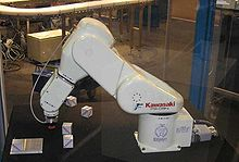 Airplane Picture - Kawasaki FS-03N industrial robot
