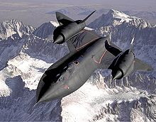 Airplane Picture - The SR-71 Blackbird was a Cold war reconnaissance plane.