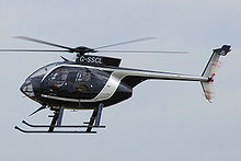 Airplane Picture - MD 500 Helicopter.