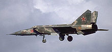 Airplane Picture - MiG-25