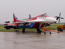 Airplane Picture - MiG-29OVT