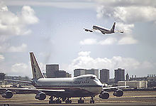 Airplane Picture - The 707 and 747 formed the backbone of many major airline fleets through the end of the 1970s.