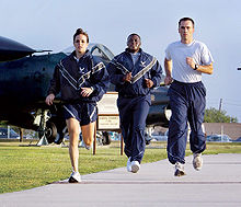 Airplane Picture - USAF members training at Lackland AFB