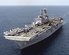 Airplane Picture - USS Bataan (LHD-5), a Wasp class amphibious assault ship
