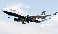 Airplane Picture - Built from 1988-2000, the MD-11 was the last McDonnell Douglas widebody aircraft.