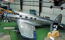 Airplane Picture - 1936-built Vultee V-1 executive aircraft displayed in the Virginia Aviation Museum
