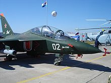 Airplane Picture - Yak-130 trainer aircraft