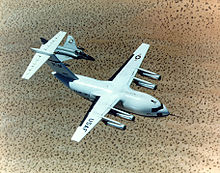 Airplane Picture - The McDonnell Douglas YC-15 was used as the base for the C-17.