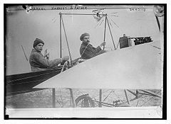 Airplane Picture - Marcel and Rene Hanriot in 1911.