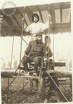 Airplane Picture - Henri Farman on September 21, 1913 in France