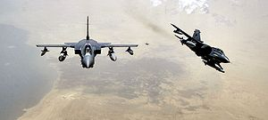Airplane Picture - RAF Panavia Tornados over Iraq.