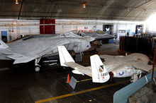 Airplane Picture - T-46, X-32 and YF-23 in the restoration area of the National Museum of the United States Air Force