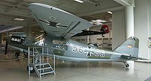 Airplane Picture - Luftwaffe Do 27 on display in the Deutsches Museum