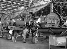 Airplane Picture - CAC Boomerang during assembly