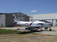 Airplane Picture - A94-901 (Mk 30), the first production CAC Sabre, in the colours of the