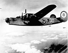 Airplane Picture - B-24J-55-CO (s/n 42-99949) belonged to 93rd BG, 328th BS; lost 21 September 1944 over Belgium