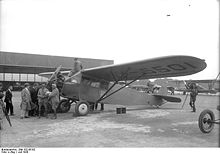 Airplane Picture - The FC-2W of Collyer and Mears at Berlin in 1928