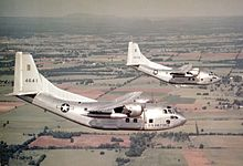Airplane Picture - USAF C-123Bs in the 1950s.