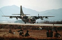 Airplane Picture - A South Korean C-123K in 1989.
