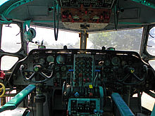 Airplane Picture - Cockpit of a C-123K Provider at the Castle Air Museum