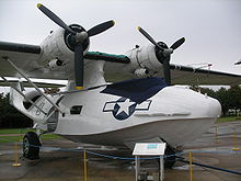 Airplane Picture - Restored Catalina, displayed in IWM Duxford