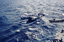 Airplane Picture - An SO3C-3 is catapulted from the USS Biloxi, October 1943.