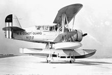 Airplane Picture - A SOC-4 of the U.S. Coast Guard.