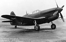 Airplane Picture - XP-60A with Allison V-1710-75 engine