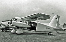 Airplane Picture - The second Dornier Do28D exhibited at the Paris Air Show in June 1967