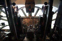 Airplane Picture - Flight deck of the Do 31