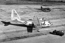 Airplane Picture - The XC-123 prototype.