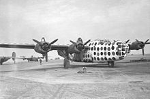 Airplane Picture - B-24D-30-CO assembly ship First Sergeant, 458th Bomb Group