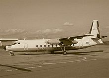 Airplane Picture - The FH-227D that crashed in the Andes in 1972 as Fuerza A�rea Uruguaya Flight 571