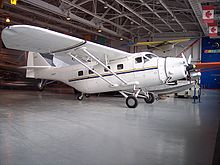 Airplane Picture - Fairchild F-11-2 on display at the Western Canada Aviation Museum, Winnipeg, Manitoba c. 2007