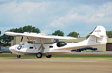 Airplane Picture - Canadian Vickers PBV-1A Canso A at RIAT, England in 2009. A version of the PBY-5A Catalina, this aircraft was built in 1944 for the Royal Canadian Air Force