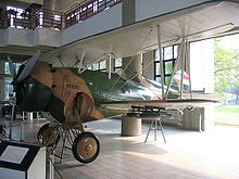 Airplane Picture - Curtiss BF2C Goshawk at the Royal Thai Air Force Museum