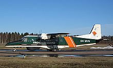 Airplane Picture - Finnish Border Guards Do 228 in Helsinki-Malmi Airport.