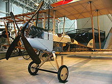 Airplane Picture - B.E.2c in the Canada Aviation and Space Museum.