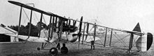 Airplane Picture - Rolls-Royce Eagle powered F.E.2d with nose-wheel.