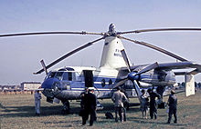 Airplane Picture - The Fairey Rotodyne prototype circa 1959.[4]