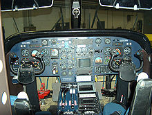 Airplane Picture - Flight deck.