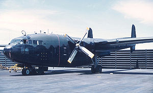 Warbird Picture - An AC-119G gunship on the tarmac